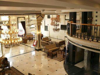 لابی هتل ساوین مشهد